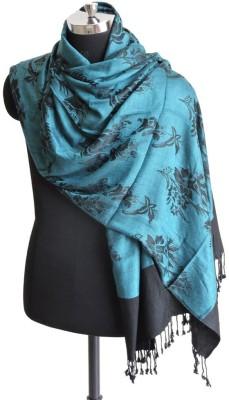 Weavers Villa Viscose Floral Print Women's Shawl