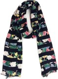 Cherry Berry Printed Viscose Girls Stole
