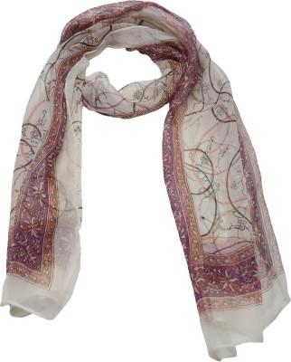 Cashmere Craft Floral Print Silk Siffon Women,s