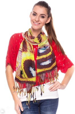 DealBindaas Printed Rayon Women's Stole
