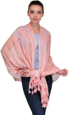Kiosha Solid Cotton Blend Women's Stole