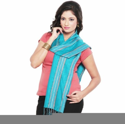 Indiangiftemporium Floral Print Modal Silk Women's Stole