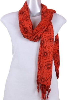 Sushito Woven Cotton Women's Scarf