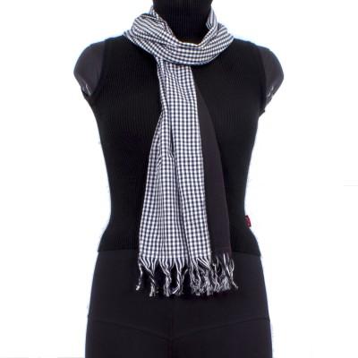 Trendif Checkered Cotton Women's Stole