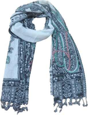 Niv Collection Self Design wool/Viscose Women's Scarf