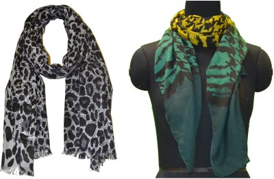 COURTLY LOVE Printed POLYVISCOSE Women's Stole