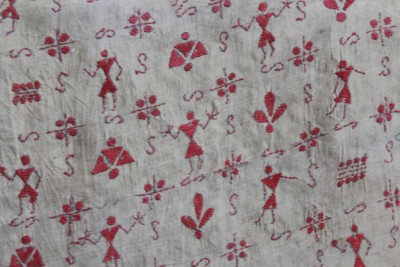 Dapple Boutique Embroidered Silk Women's Scarf