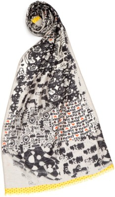 Disney Printed Wool Girls Scarf