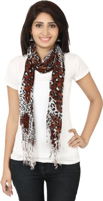 Sunsilk Enterprises Animal Print Cotton Women's Scarf