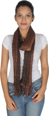 Anekaant Striped Viscose Lycra Women's Scarf