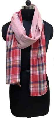 MURAL FASHIONS Checkered COTTON Men's Scarf