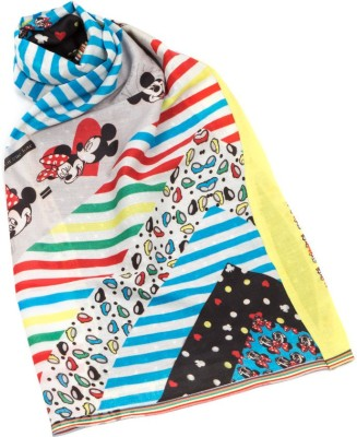 Disney Printed Cotton Girl's Scarf