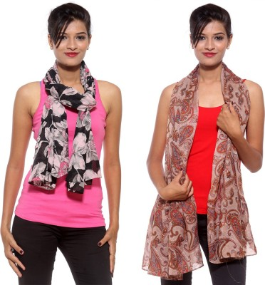 Covetindia Printed Cotton Women's Stole
