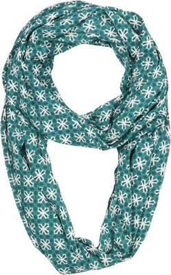 Dzayr Printed 100%Polyester -American Crepe Women's Scarf