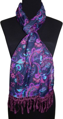 BOLLYWOOD ACCESSORY Printed POLY MALAI Women's Scarf