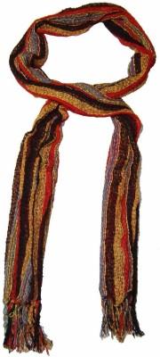 Saffron Craft Woven Cotton Silk Women's Stole