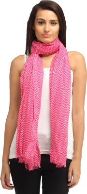 Needlecrest Striped Cotton Voile Women's Scarf