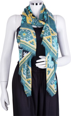 Insyync Geometric Print Cotton Women's Scarf