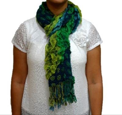 Portia Self Design Cotton Lycra Women's Stole