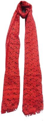 Dream Fashion Printed Tussar Silk Women's Stole