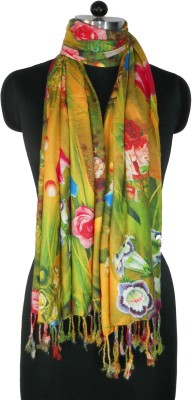 NEHANCHAL Floral Print Viscose Women's Scarf