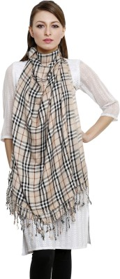 Uniscarf Checkered Viscose Women's Stole