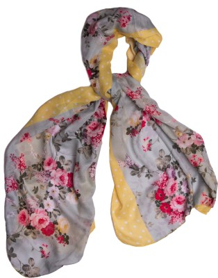 Bandbox Printed Cotton Women's Scarf