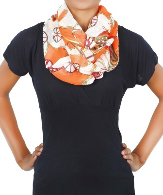 Stylehoops Printed Polyester Women's Scarf
