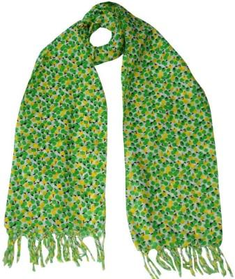 HVE Floral Print Voile Women's Scarf
