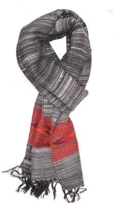 Elabore Striped Wool Women's Scarf