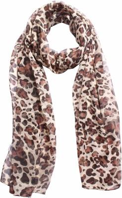 DIVAS CHOICE Animal Print polyester Women's Stole