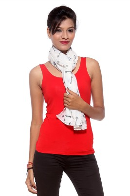 Covetindia Graphic Print Cotton Women's Scarf
