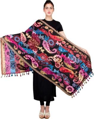 BrandTrendz Printed Cotton Jute Women's Stole