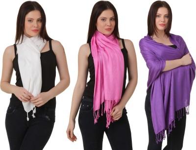 RoseBella Printed wool Women's Stole