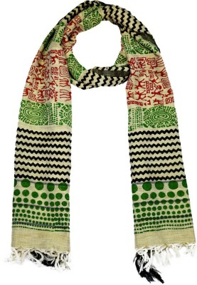 TII Printed Cotton Women,s Stole