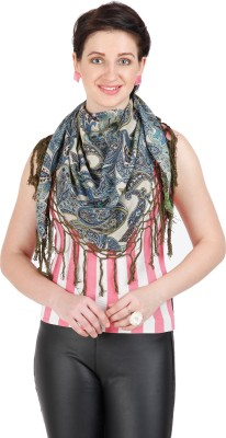 Shyam & Co. Of North Pvt. Ltd. Printed 100% Cotton Women's Scarf