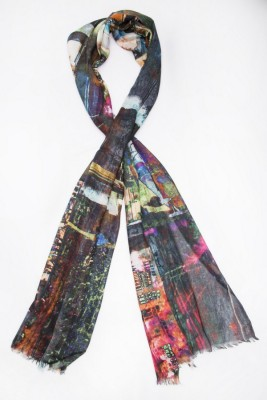 Toscee Printed 100% Modal Women's Scarf