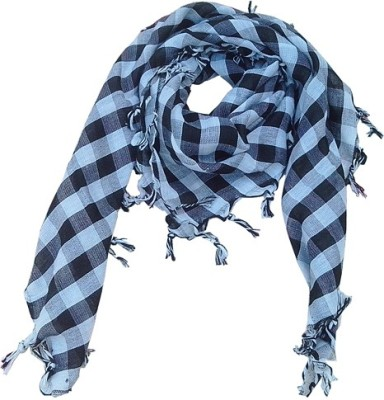 Wholesomedeal Checkered Cotton Men's Scarf