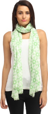 Needlecrest Floral Print Cotton Voile Women's Scarf