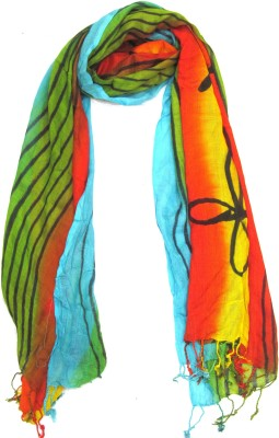 Malhotra & Sons Graphic Print Rayon Women's Stole