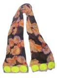 Semantika Floral Print Silk Blend Women'...