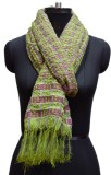 Quilt Solid poly viscose Women's Stole