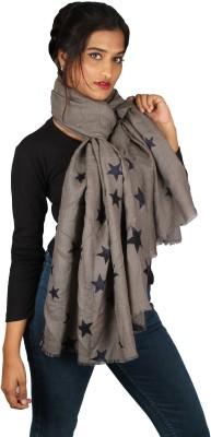 True Fashion Printed Pure Wool Women's Scarf