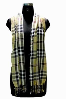 Selfiwear Checkered Linen Men's Stole