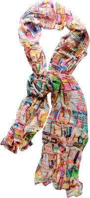 MAGA Self Design Pure Georgette Women,s, Girl's Stole