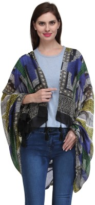 Kiosha Printed Cotton Blend Women's Scarf