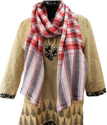 Baba Handicrafts Checkered 100% Pashamina Women's Stole