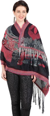 Shyam & Co. Of North Pvt. Ltd. Woven 100% Wool Exclusive Of Decoration Women's Scarf