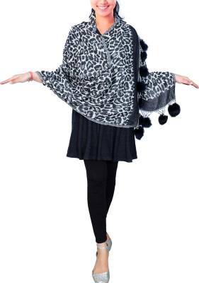 Super Drool Self Design Wool Women,s, Girl's Stole