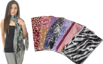 Chinese Printed Polyester Women,s